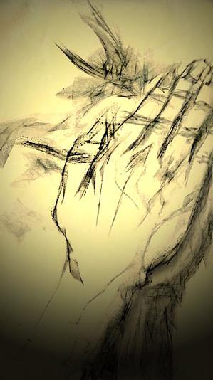 イラスト『祈る手』 by J.F.Kooya