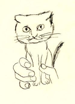 イラスト『モバイル猫』by J.F.Kooya