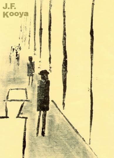 『街路』by J.F.Kooya